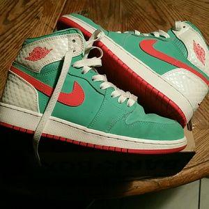Retro Hightop Nike Jordan's